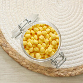 Maïs soufflé au miel